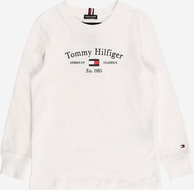 Marškinėliai iš TOMMY HILFIGER, spalva – tamsiai mėlyna / raudona / balkšva, Prekių apžvalga