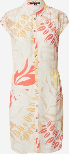 COMMA Shirt Dress in Light beige / Yellow / Red / White, Item view