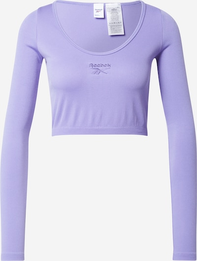 Reebok Classic T-shirt 'Classic Essentials' en violet, Vue avec produit