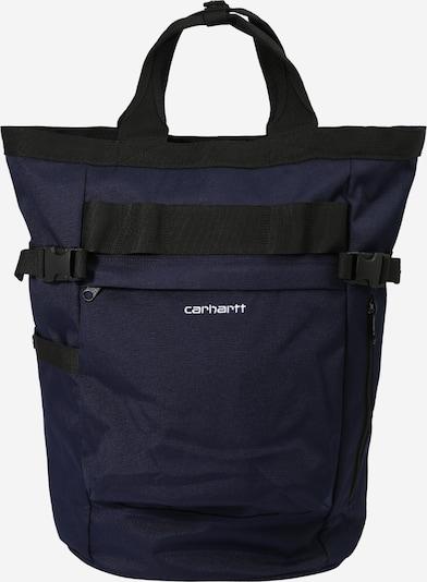 Carhartt WIP Seljakott 'Payton Carrier' tumesinine / must / valge, Tootevaade