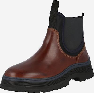 SCOTCH & SODA Chelsea boots 'Maffei' in de kleur Navy / Karamel / Zwart, Productweergave