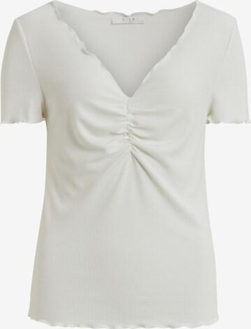 VILA Shirt 'VIFILINE' in Weiß