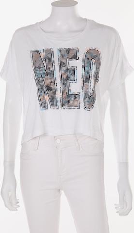 ADIDAS NEO Cropped Shirt in L-XL in Weiß