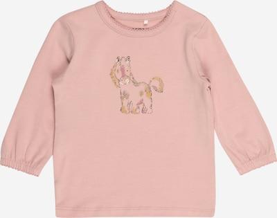 NAME IT T-Krekls 'Lisa', krāsa - zeltaini dzeltens / rožkrāsas / melns / balts, Preces skats