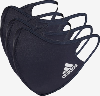ADIDAS PERFORMANCE Sports Scarf 'Badge of Sport' in Dark blue / White, Item view