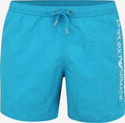 Emporio Armani Zwemshorts in de kleur Hemelsblauw, Productweergave