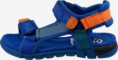 Pio Trekkingsandale in blau / orange, Produktansicht