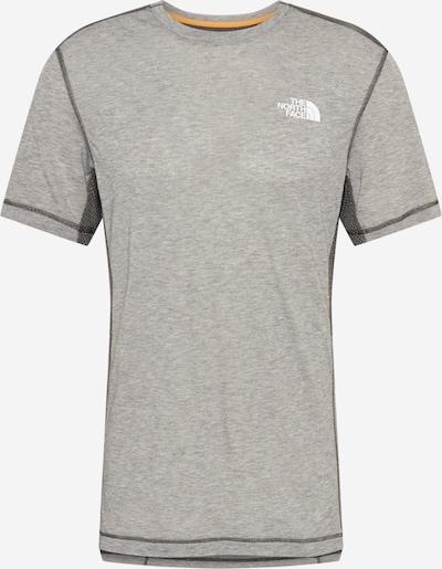 THE NORTH FACE Camiseta funcional 'CIRCADIAN' en gris oscuro / gris moteado / blanco, Vista del producto