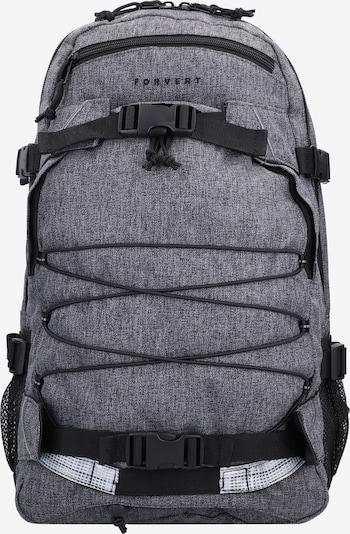 Forvert Rucksack in grau / schwarz / weiß, Produktansicht