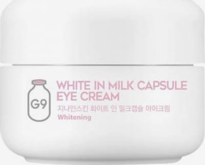 G9 Skin Augencreme 'White in Milk Capsule' in weiß, Produktansicht