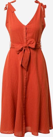 FRNCH PARIS Jurk in de kleur Oranjerood, Productweergave