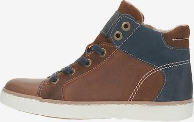 BULLBOXER Sneaker in dunkelblau / cognac, Produktansicht
