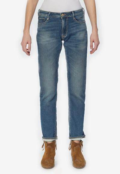 Le Temps Des Cerises Jeanshose '200/43' in blau, Modelansicht