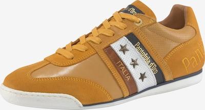 PANTOFOLA D'ORO Sneaker low 'Imola' i brun / honning / safran / sort / hvid, Produktvisning