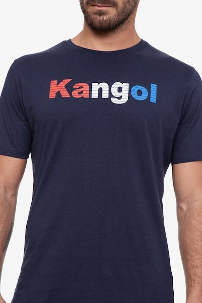Kangol T-Shirt 'FERGUS' in navy, Produktansicht