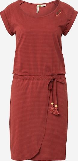 Ragwear Kleid in rostrot / weiß, Produktansicht