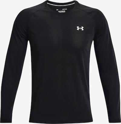 UNDER ARMOUR Funkčné tričko 'Streaker' - čierna / biela, Produkt