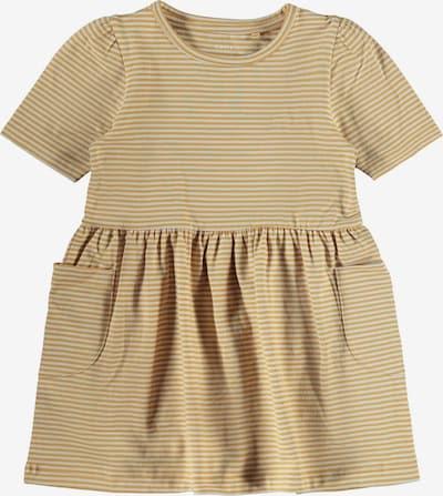 NAME IT Kleid 'Dagmar' in hellbraun / weiß, Produktansicht