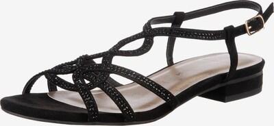 JANE KLAIN Sandale in schwarz, Produktansicht