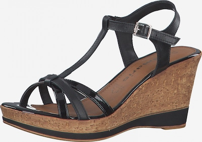 TAMARIS Páskové sandály - černá, Produkt