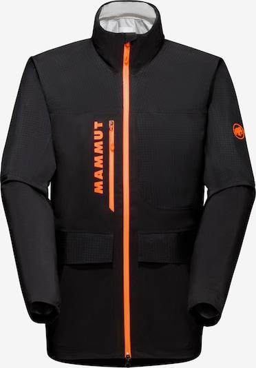 MAMMUT Jacke 'Archive' in orange / schwarz / weiß, Produktansicht