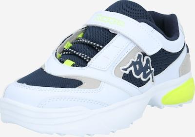KAPPA Sneaker in dunkelblau / gelb / weiß, Produktansicht
