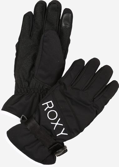 ROXY Sporthandschuhe 'JETTY' in schwarz / weiß, Produktansicht