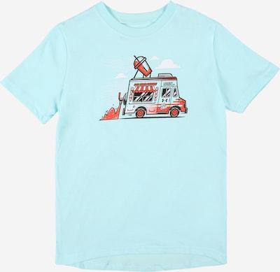 UNDER ARMOUR T-Shirt fonctionnel 'ICE CREAM' en bleu clair / rouge / noir / blanc, Vue avec produit