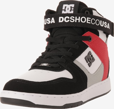 DC Shoes Sneaker 'Pensford' in rot / schwarz / weiß, Produktansicht