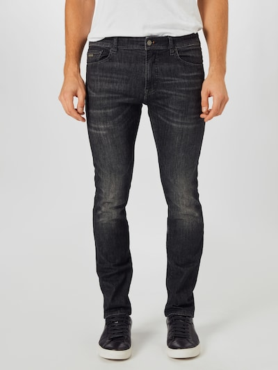 BOSS Jeans i grey denim: Frontvisning