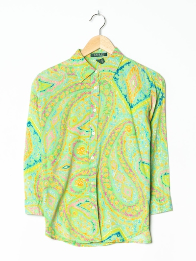 Lauren Ralph Lauren Bluse in L in neongrün, Produktansicht