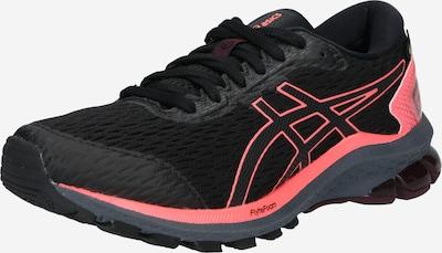 ASICS Skriešanas apavi 'GT-1000 9', krāsa - tumši pelēks / laša / melns, Preces skats