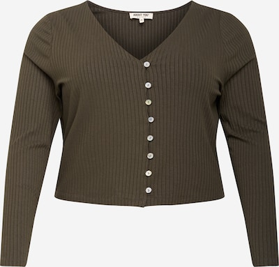 ABOUT YOU Curvy Shirt 'Selena' in khaki, Produktansicht