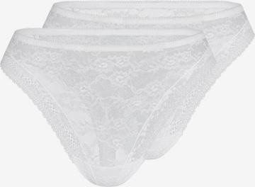 sassa String 'LOVESOME LACE' in Weiß