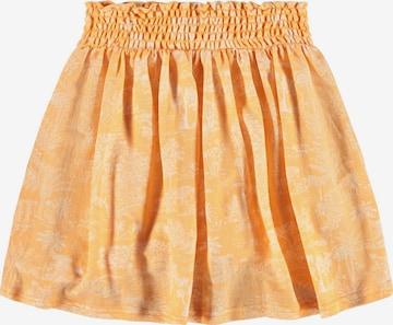 NAME IT Kjol 'Jabina' i orange