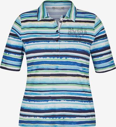 Rabe Shirt in dunkelblau / hellgrün / weiß, Produktansicht