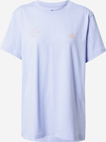 ADIDAS PERFORMANCE Sportshirt in Blau