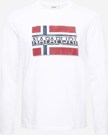 NAPAPIJRI Skjorte i hvit