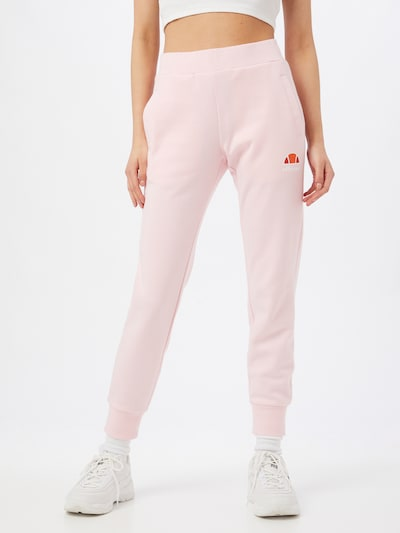 ELLESSE Trousers 'Forza' in Orange / Light pink / Red / White, View model