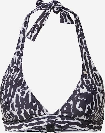 InWear Góra bikini 'RonaI' w kolorze czarny / białym, Podgląd produktu