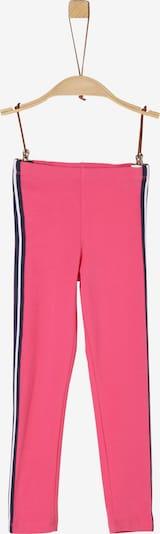 s.Oliver Leggings in marine / pink / weiß: Frontalansicht
