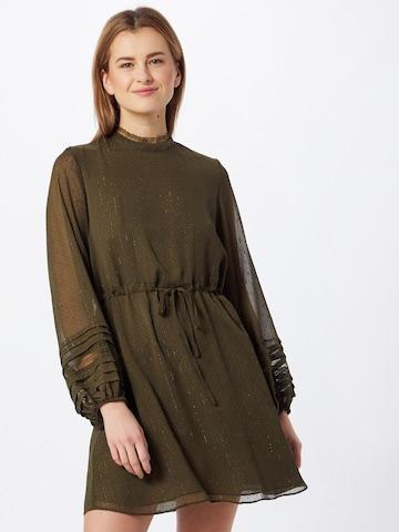 VILA Shirt Dress 'DOLLA' in Green