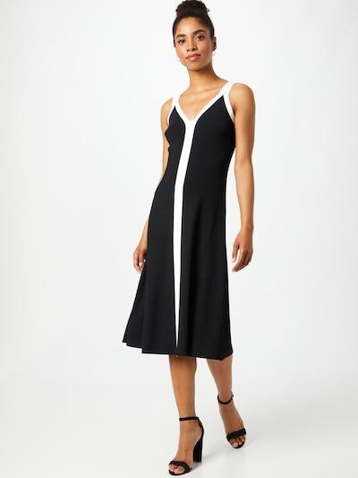 Rochie Lauren Ralph Lauren pe negru / alb, Vizualizare model