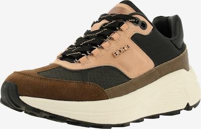 BJÖRN BORG Sneakers ' R1300 CTR EXT ' in Cognac / Dark brown / Pastel pink, Item view