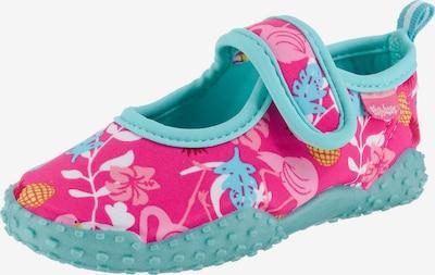 Sandalai / maudymosi batai iš PLAYSHOES , spalva - turkio spalva / rožinė, Prekių apžvalga