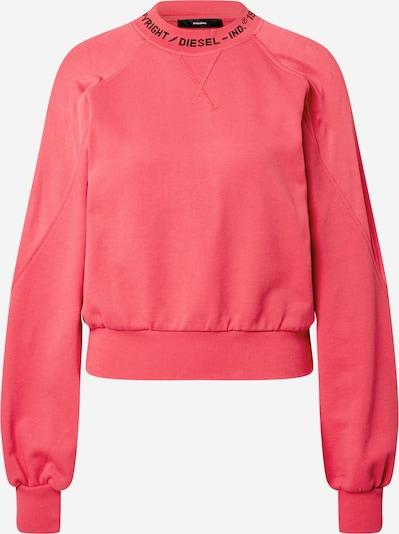 DIESEL Sweat-shirt 'TULIP' en rose / noir, Vue avec produit