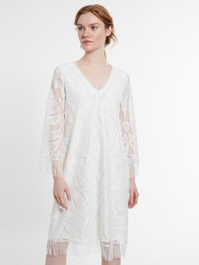Ana Alcazar Tunikakleid in weiß, Modelansicht