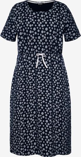 Ulla Popken Kleid in hellblau / dunkelblau, Produktansicht