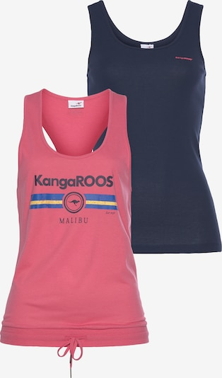 KangaROOS Tanktop in blau / rosa, Produktansicht