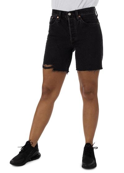 Jeans ' 501 Mid Thigh ' LEVI'S pe maro / roșu / negru / alb, Vizualizare model